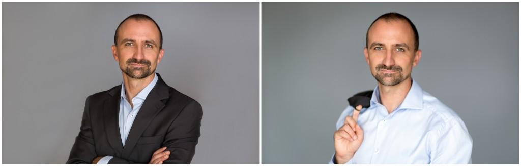 Portret biznesowy na portale społecznościowe lub do CV