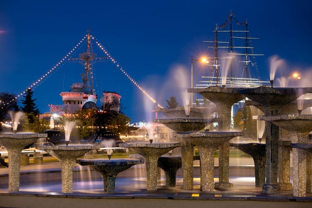 Gdynia-fontanna