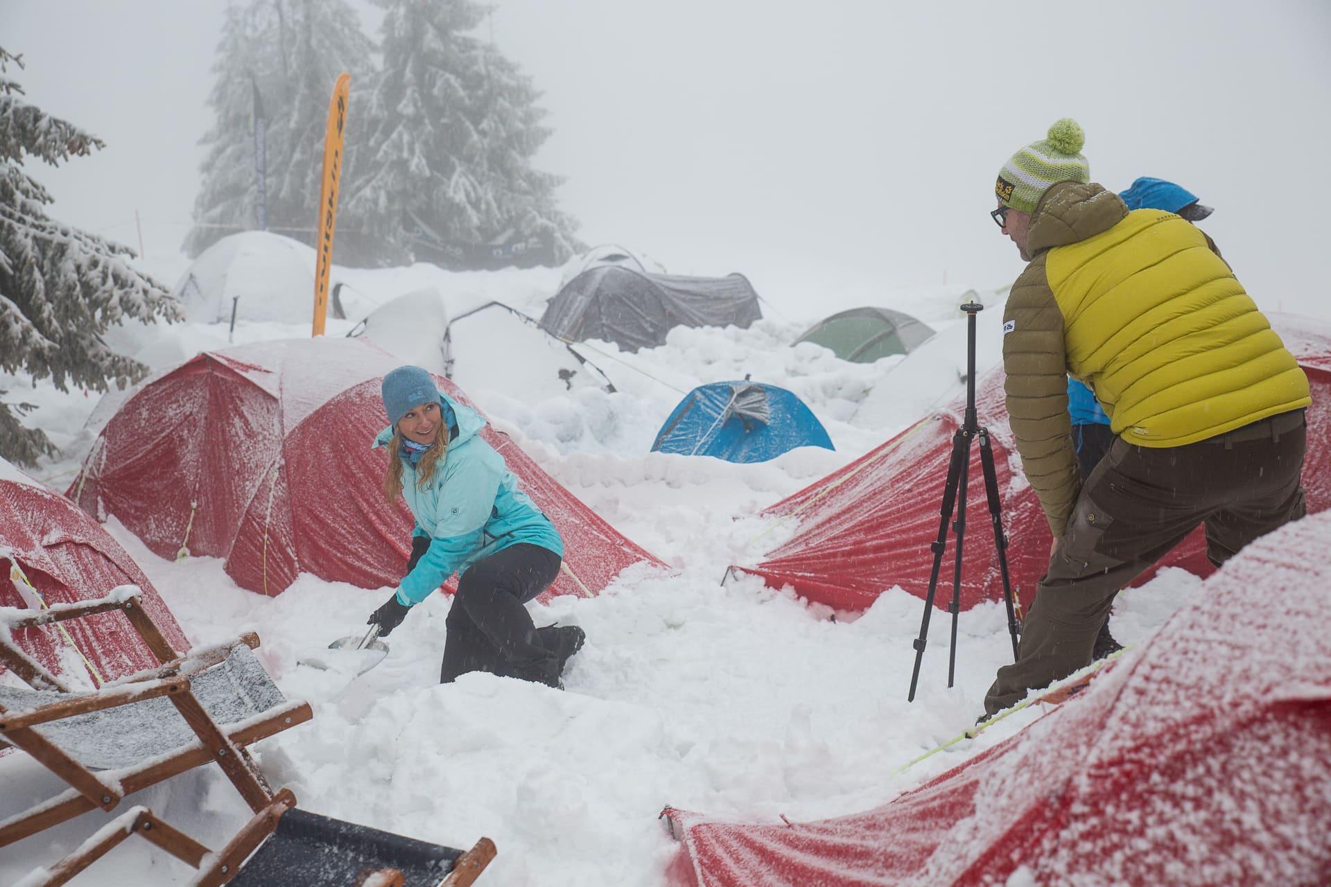 zima na Turbaczu