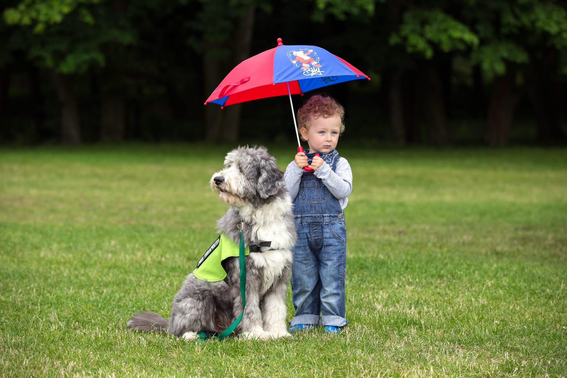 pod parasolem