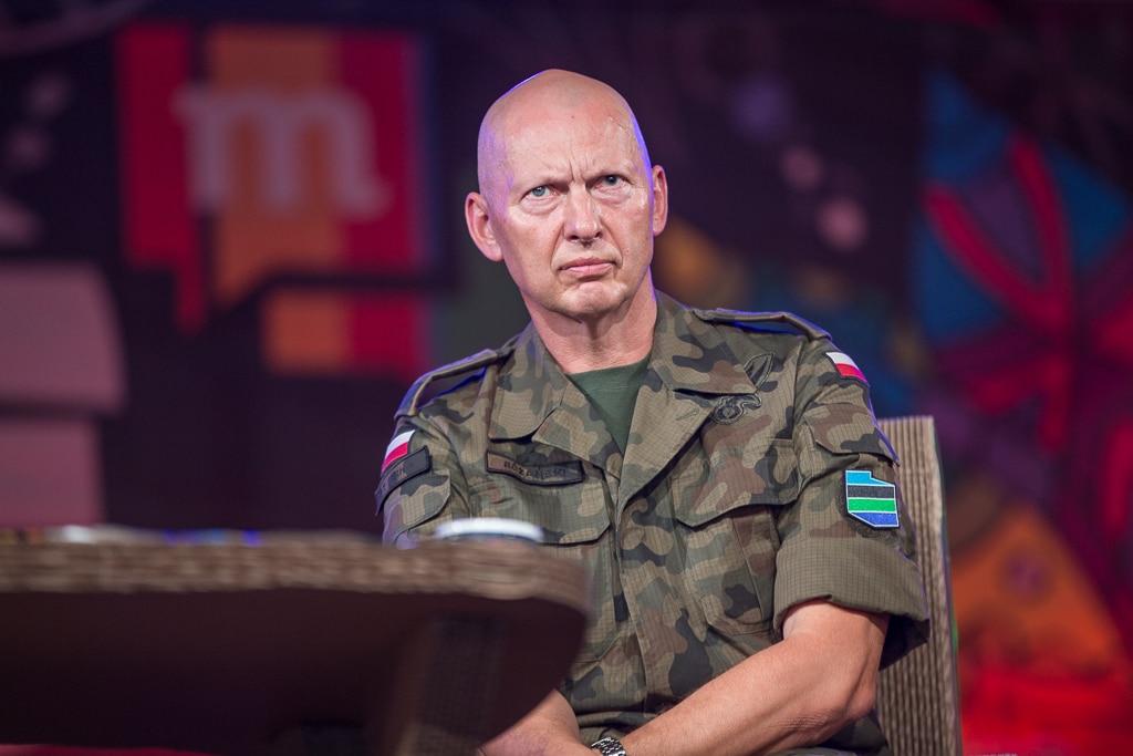 gen. Różański na Pol'and'Rock