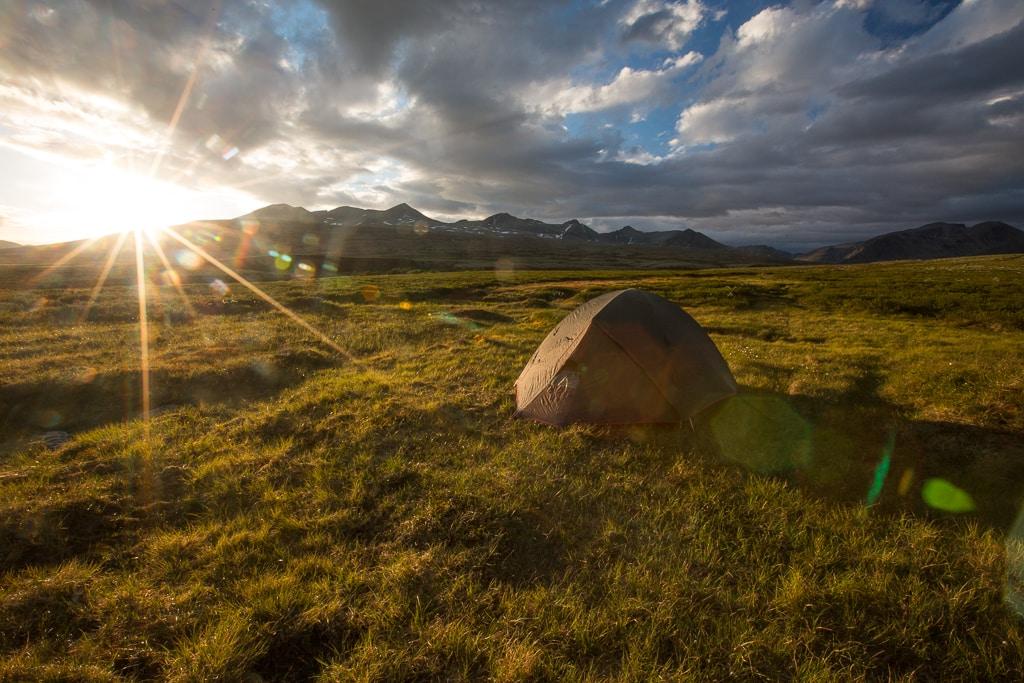 Norwegia-i-zachód-słońca