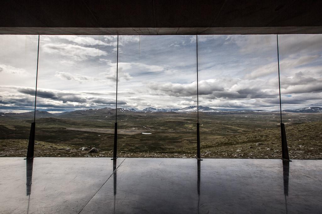 Norwegia i punkt widokowy